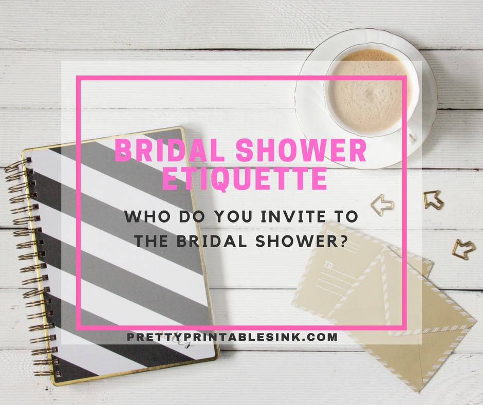 bridal shower guest list