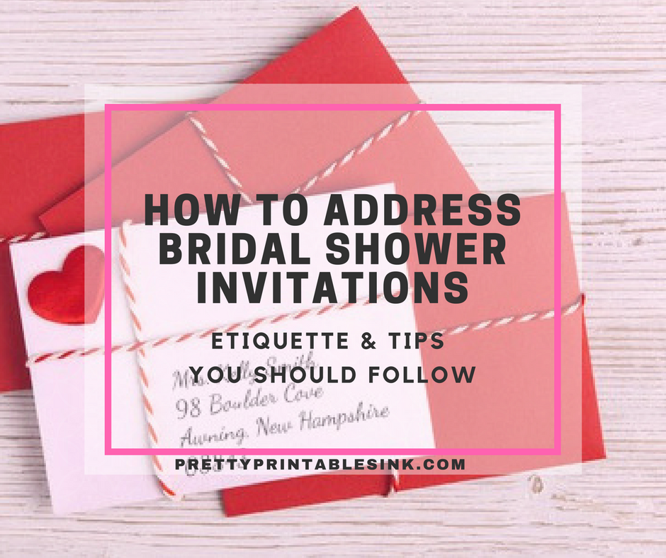 How to address bridal shower invitations pretty printables ink how to address bridal shower invitations categories bridal shower etiquette bridal showers filmwisefo