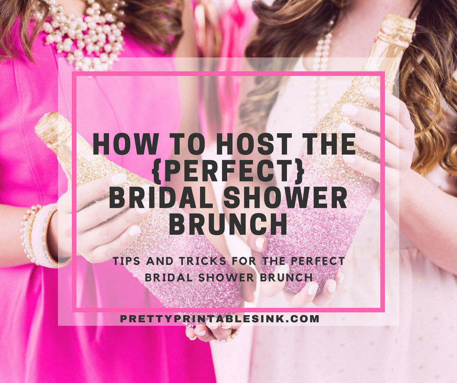 how to host the perfect bridal shower brunch