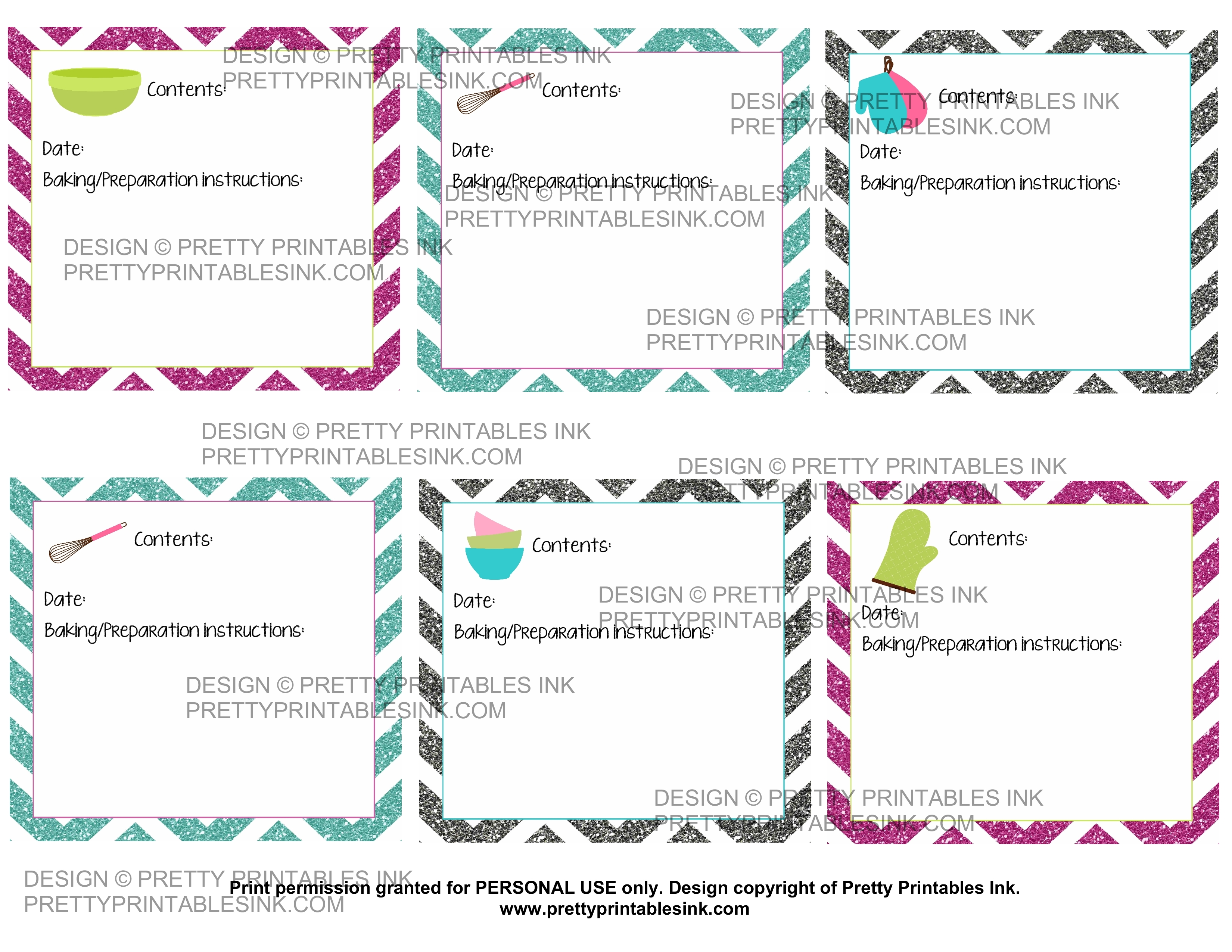 photo about Printable Freezer Labels titled Freebie Friday: Printable freezer evening meal labels Attractive