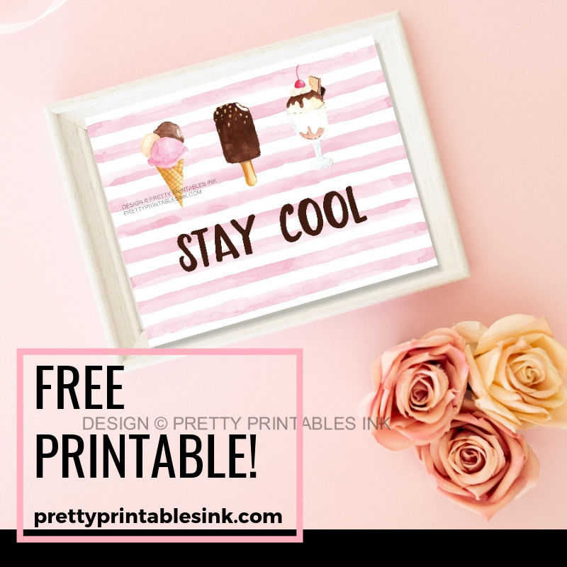 picture relating to Cool Printables titled Freebie Friday: Continue being neat Incredibly Printables Ink